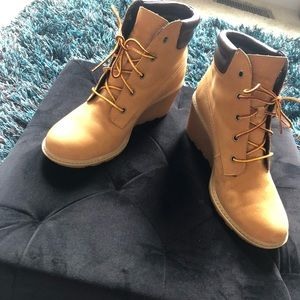 Wedge Wheat Timberland boots